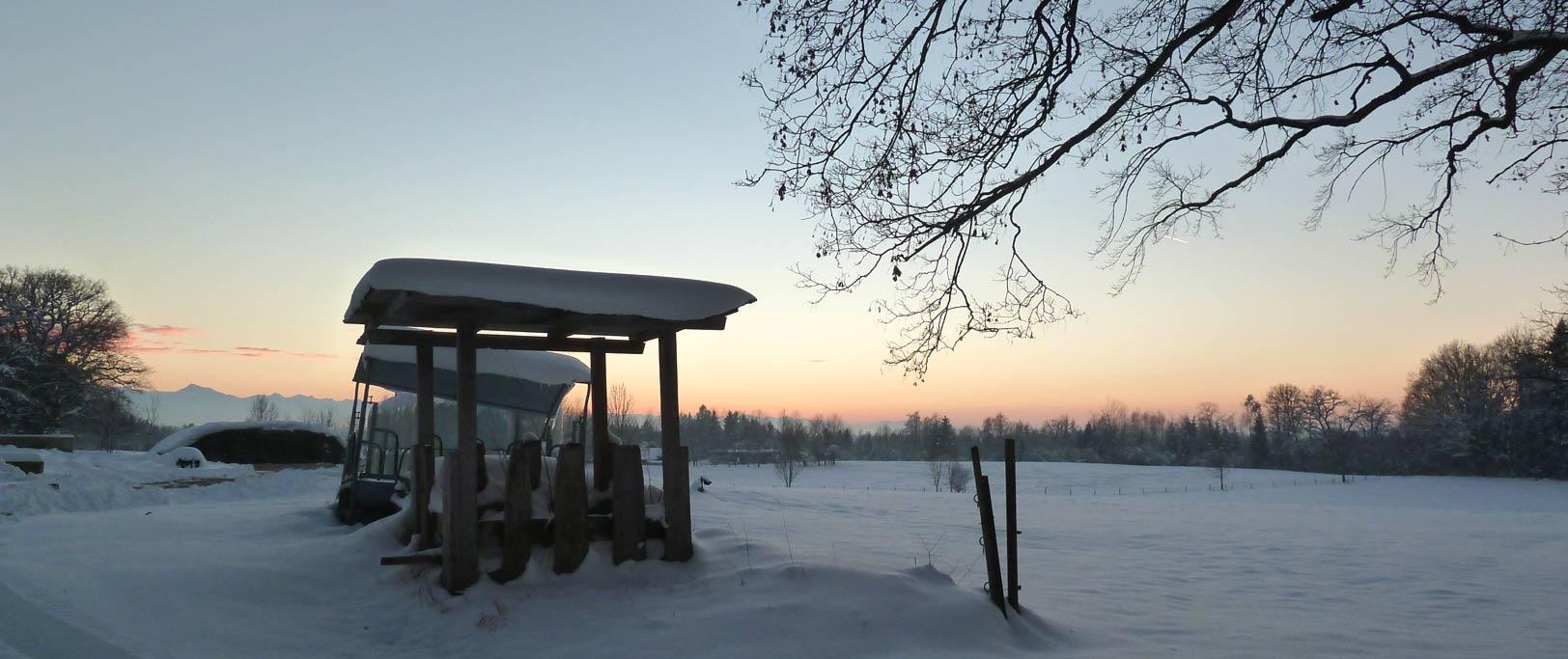 Winterimpressionen Moseurach, Königsdorf